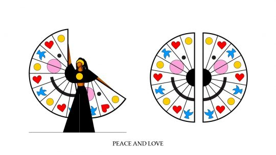 ACT III, Over the Rainbow - Love - PEACE AND LOVE