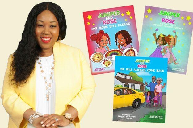Amazon Best-Seller Author, Reea Rodney