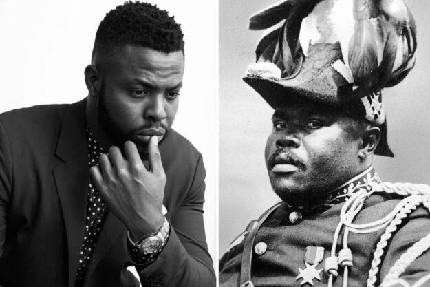 Winston Duke & Marcus Garvey