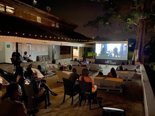 Sunalia Tobago- Outdoor Cinema