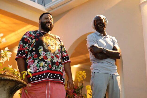 DJ Khaled & Buju Banton in Jamaica