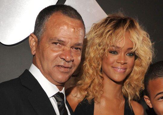 Rihanna & her father Ronald Fenty