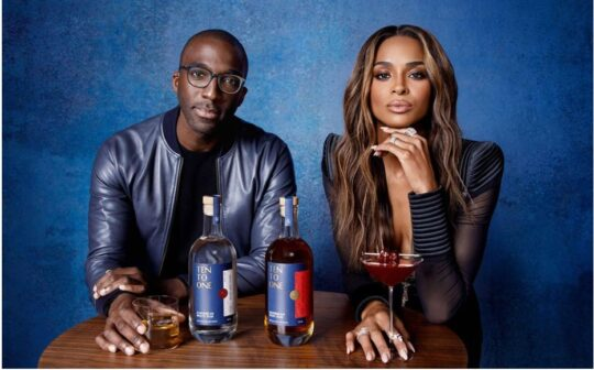 'Ten to One' founder and CEO Marc Farrell & Investor/ Co-owner Ciara